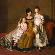 Mother and Two Children by A E Chalon, c. 1812*