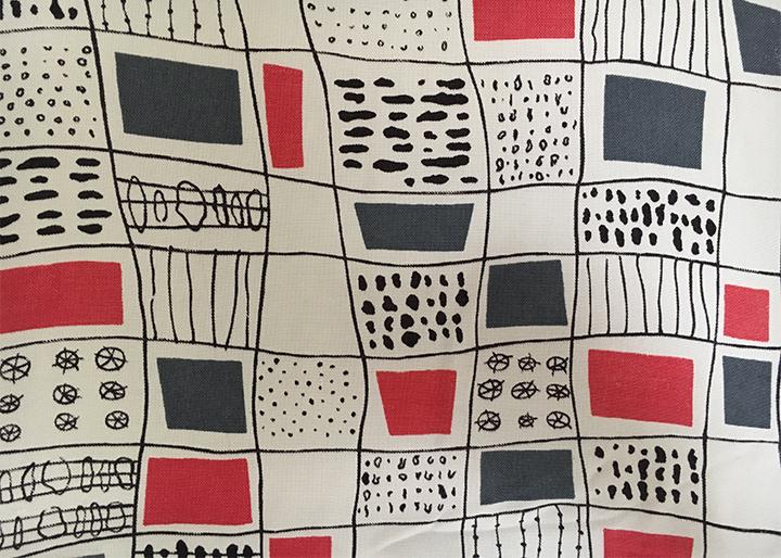 Terence Conran 1951 World Textiles Dress Meg Andrews