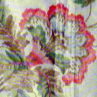 Chine silk shawl c 1850
