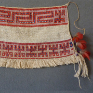 Wai Wai Beaded Apron (queyu) Early 20th c