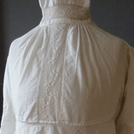 Mary Best's high neck  c 1807