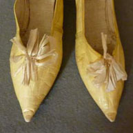 Lemon Slippers 1790's