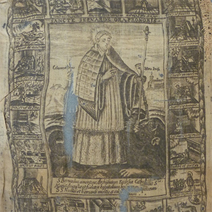 Book Cover ? Saint Bernardus 17th c