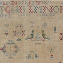 Dutch Sampler dated 1768