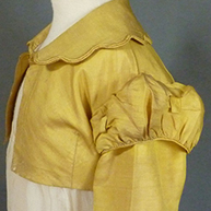Girl's Spencer  early 1820's