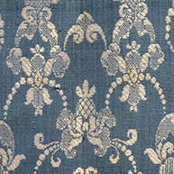Blue Brocade Early 18th c.