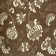 Brown Brocade Early 18th c.