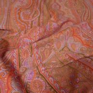 French Jacquard Shawl 1860's