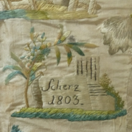 German Silk Embroidery 1803
