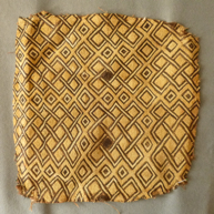 Shoona Tribe, Kuba Region Raffia Cloth Early 20th