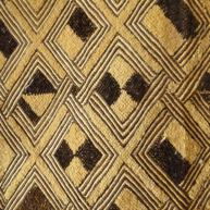 Shoona Tribe, Kuba Region Raffia Cloth Early 20th c