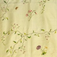 Embroidered Dress Silk Mid 18th c