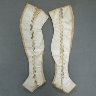 Men's Spatterdashes Early 19th c