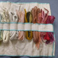 Crewel Wools Early 20th c