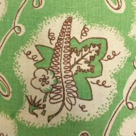 Leaves on Linen 1930's