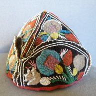 Iroquois Beaded Hat Second half of 19th c