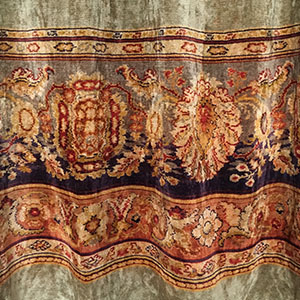 Chenille Curtain c 1900