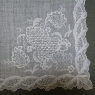 Whitework Kerchief 1750-75