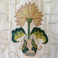 Queen Anne Embroidery 1720's
