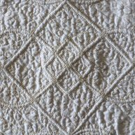 Queen Anne Cord Trapunto Quilting 1720's