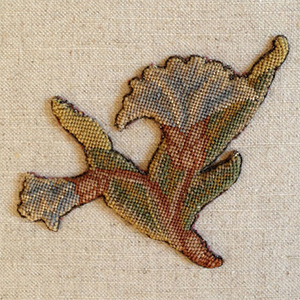 Rare Charles II Embroidery c 1660