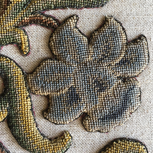 Rare Charles II Embroidery 1660