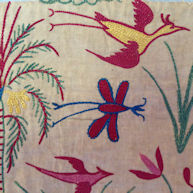 Indian Export Gujerati Embroidery 18th century