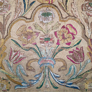 Large Embroidered Hanging Late 17th c