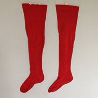 Small Girl's Stockings Mid 19th c