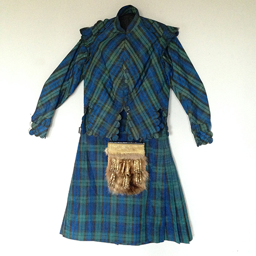 Tartan Fancy Dress  1835-40