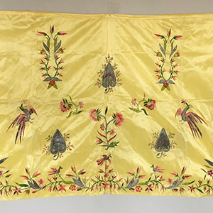 Indian Inspired Apron c 1770
