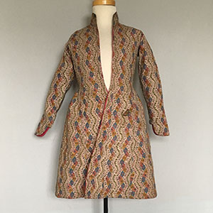 Persian Quilted Coat Early 19th c