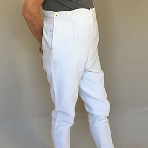 Men's Stretchy Trousers Late 19th c
