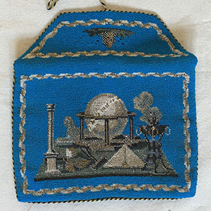 German Masonic Purse 1850-60