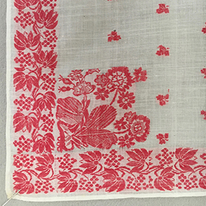 Woven Fichu Early 19th c