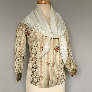 French Bodice 1770s/80s