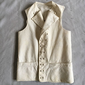 Double Breasted Waistcoat c 1785-95