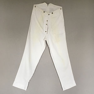 White Trousers  1860s