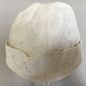 Quilted Gentleman's Cap 18th c