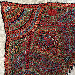 Persian Kerman Embroidery Third quarter 19th c