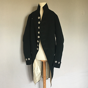 Black Wool Suit 1795-1805