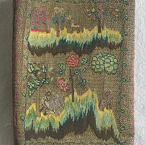 Tapestry Woven Letter Case Late 18th c.