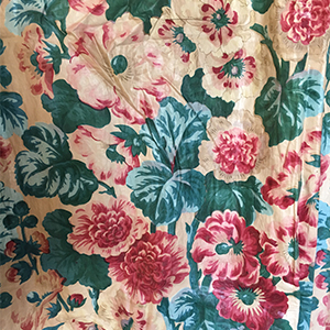 Printed Curtains 1860s