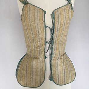 Silk Quilted Jumps or Waistcoat Early 18th c