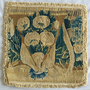 Flemish Tapestry Cushions 17th c