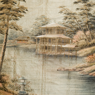 Kyoto Temple Embroidery Late 19th c
